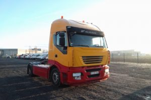 IVECO STRALIS 450 ACTIVE SPACE JAUNE BT-607-KW