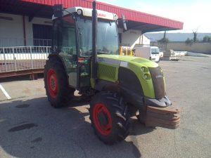 CLAAS TRACTEUR AGRICOLE NECTIS 257VL 4X4 CABINE  460AXN34