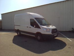 FORD TRANSIT TDCI 125 BLANC EC-292-WE