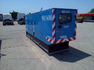 SDMO GROUPE ELECTROGENE TWD 740 GE – GS 200 CLASSE III  GS200
