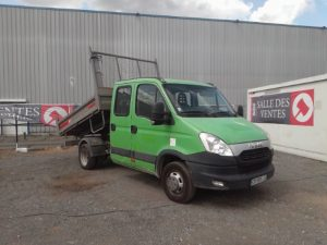 IVECO DAILY 35C13  BENNE DOUBLE CABINE VERT CR-930-LE