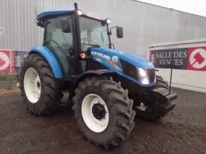NEW HOLLAND TRACTEUR AGRICOLE TD5 95 DE 2018 BLEU 230