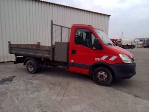 IVECO DAILY 35C13 BENNE ROUGE BP-675-JL