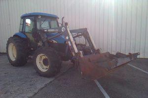 NEW HOLLAND TRACTEUR AGRICOLE TB85 BLEU FD-140-ZY