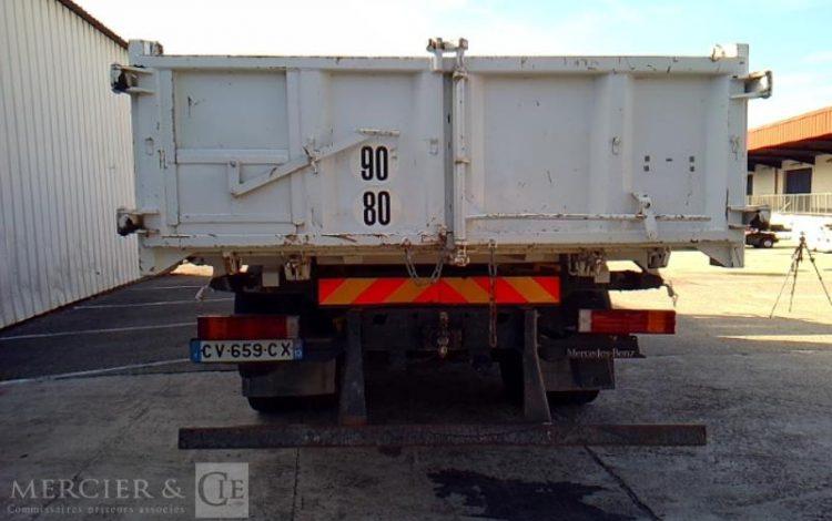 MERCEDES BENNE GRUE BLANC CV-659-CX