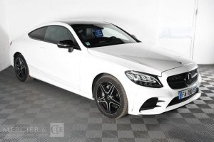 MERCEDES CLASSE C COUPE 220D AMG LINE 4MATIC G-TRONIC BLANC FA-190-YS