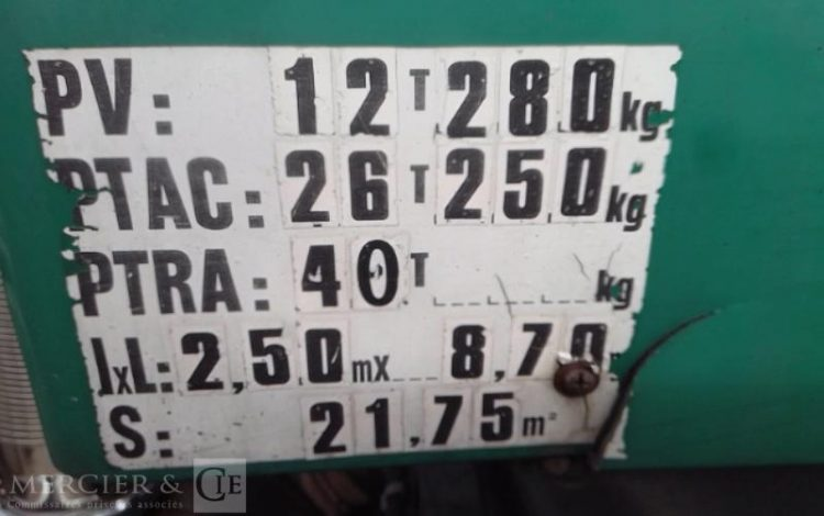 VOLVO FH12 460 6X2 26T AMPLIROLL VERT AQ-035-MG