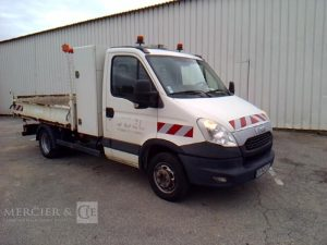 IVECO DAILY 35C13 BENNE BLANC CR-043-LF