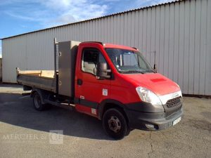 IVECO DAILY 35C13 BENNE ROUGE CV-590-TQ