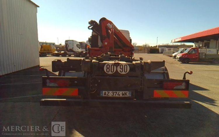 MAN TGM 26,34 GRUE+BRAS 6X2 16CV  AZ-374-WK
